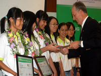 15 students became 'Bayer Environmental Envoy 2009'