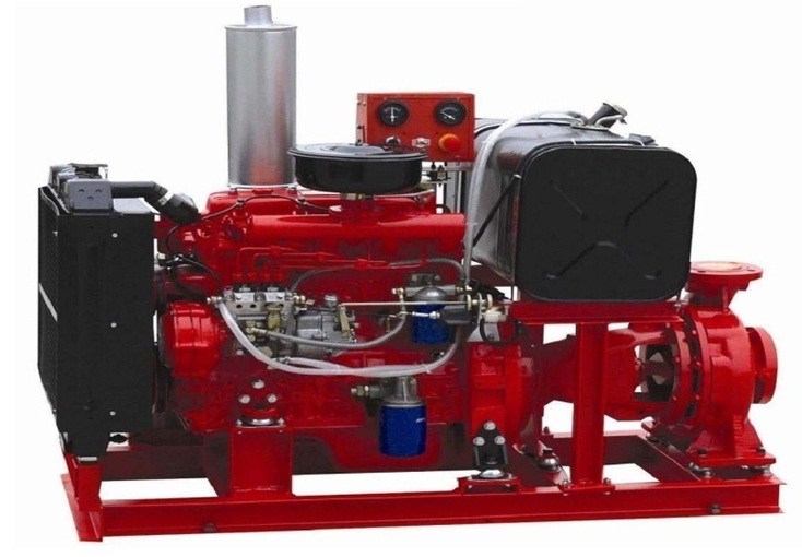 DSR - Diesel engine fire pump